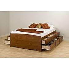 vintage king size storage platform bed storage bed modern