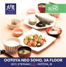 promo cuisine ootoya opening promo neo soho jakarta