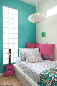 Cool Teenager And Bedroom Design Ideas With Turquoise
