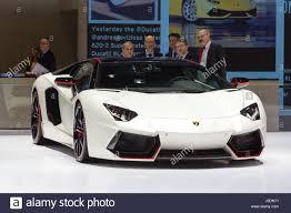 Lamborghini Aventador Lp700 4 Pirelli Edition - geneva switzerland march 4 2015 lamborghini aventador lp 700