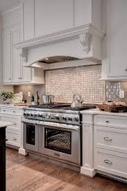Ferguson Bath Kitchen And Lighting Sherwin Williams Dover White For A Transitional Kitchen With A
