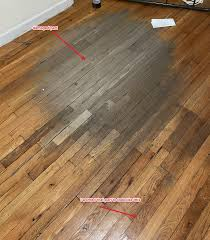 is vinyl flooring or bad wood floor fix attempt went from bad to much worse need