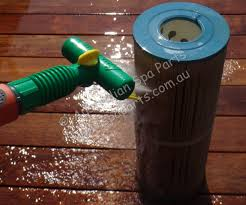 aqua comb filter cartridge cleaner for spas and pools