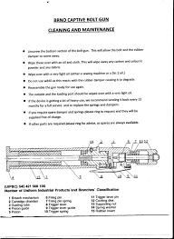 operating instructions for brno captive bolt gun