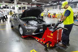 lexus cars manufacturer 2016 es 350 is lexus u0027 first us built car w video