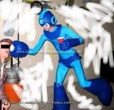 Megaman Halloween Costume Coolest Homemade Mega Man Costumes