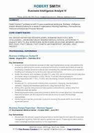 business analyst resume word exles for the root chron business intelligence analyst resume sles qwikresume
