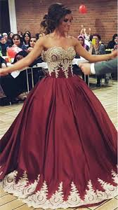 maroon quinceanera dresses burgundy satin quinceanera dresses gowns gold lace appliques