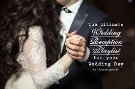 wedding reception playlist the ultimate wedding reception playlist for your wedding day