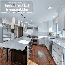 remodeling a kitchen ideas how much does remodeling a kitchen cost home design and pictures