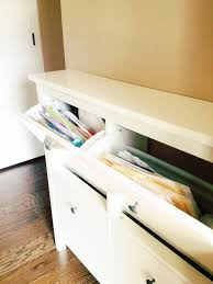 ikea shoe cabinet hack use ikea u0027s hemnes shoe cabinets to create a drop zone in your