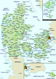 map of denmark maps worl atlas denmark map online maps maps