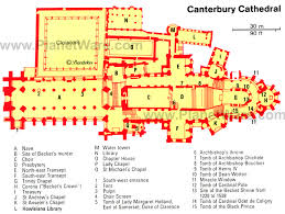 cathedral floor plan canterbury cathedral floor plan canterbury cathedral map jpg 700
