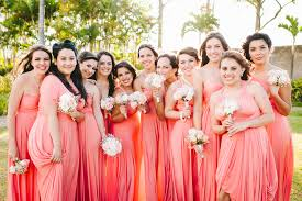 how to style cool coral bridemsaid dresses ideas u2013 weddceremony com