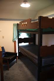 Two Floor Bed by Bethel Cabin Winding Creek Camp
