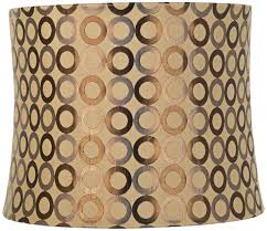 copper circles drum lamp shade 13x14x11 spider lampshades