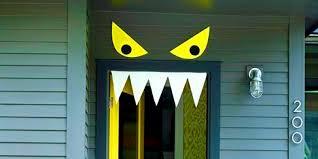 scary halloween door decorating contest ideas scary halloween door