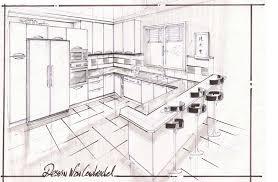 dessiner cuisine la cuisine