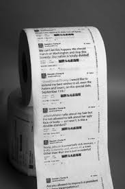 donald trump u0027s shitty tweets printed on toilet paper consequence