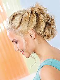 Hochsteckfrisurenen Einfach F Locken by Einfache Hochsteckfrisuren Für Mittellanges Haar Zum Selber Machen