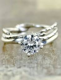 untraditional engagement rings nature inspired wedding rings arabia weddings