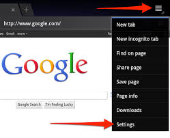 how to delete search history on android how to clear the browsing history on your android tablet
