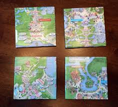 disney park maps diy disney park map coasters touringplans com