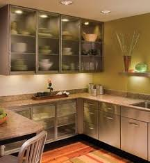 Kitchen Cabinet Glass 20 Beautiful Kitchen Cabinet Designs With Glass Stainless Steel