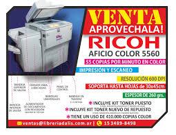 remato 3 fotocopiadoras ricoh 5560 y 3260 la plata buenos aires