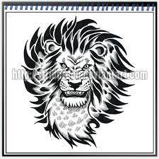 tattoo design 024 lion by striderden on deviantart