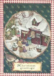 susan wheeler cards pond hill susan wheeler bunnies post office christmas greeting