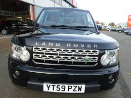 land rover discovery black used sapphire black land rover discovery for sale cheshire