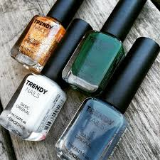 trendy nails by the face shop review less talk more polish