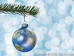 world globe christmas ornaments images