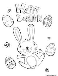 free easter coloring pages kids mbabbq