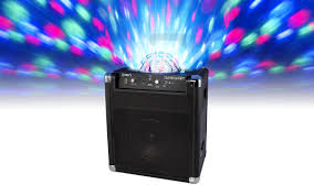 portable speaker with lights block party portable wireless speaker system with party lights