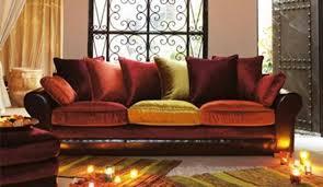 canapé style indien une d co et color e pour un salon canape style