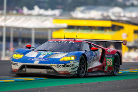 Ford Racing Flag Ford Gt Makes History At Le Mans The Drive