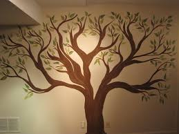how to paint a tree mural on a wall creative genius art family tree wall mural murals for nursery cherry hand painted best free home design idea inspiration