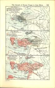 Asia Minor Map by