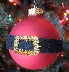how to make tree ornament santa s belly bauble diy craft