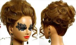 updo for medium hair halloween hairstyle makeup videos