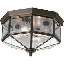 Ceiling Flush Mount Light Fixtures Progress Lighting 4 Light Antique Bronze Flushmount P5789 20 The