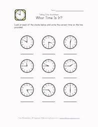 telling time worksheets mathnook inuits pinterest telling