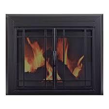pleasant hearth easton fireplace glass door u2014 for masonry