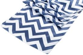 Navy Blue Table Runner Chevron Satin Table Runner Navy Blue At Cv Linens Cv Linens
