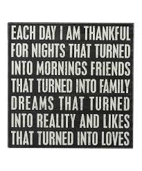 i am thankful box sign thanksgiving box wisdom