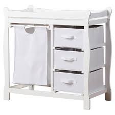 Sleigh Changing Table Sleigh Style Baby Changing Table With 3