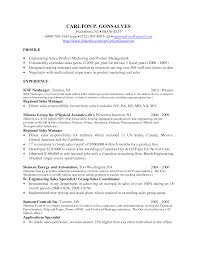 Inside Sales Resume Example by Regional Manager Resume Sample Resume For Your Job Application