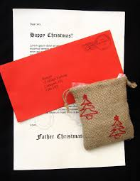 letter from santa through looking glass